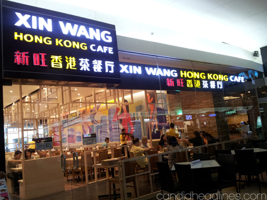Xin Wang Hong Kong Cafe in SM Mall of Asia beside Imax