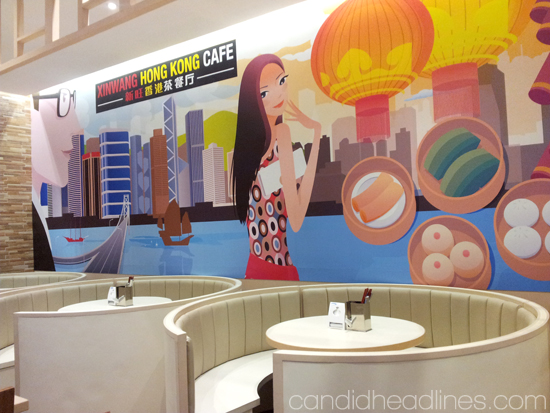 inside Xin Wang Hong Kong Cafe in SM Mall of Asia