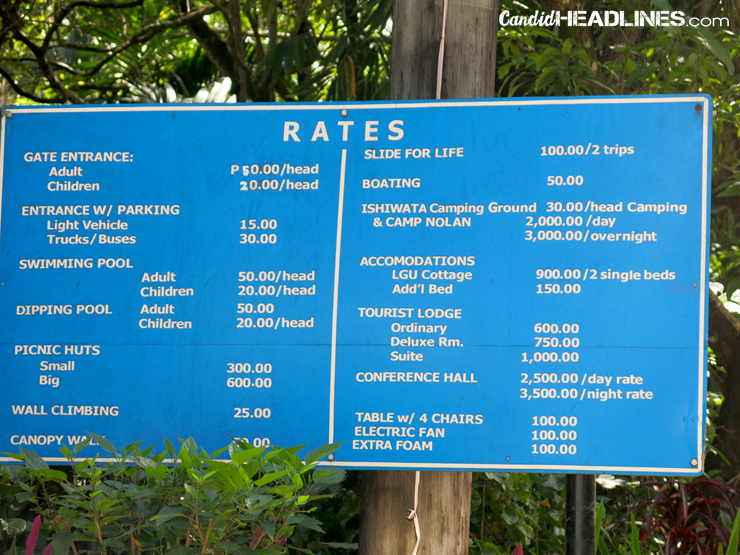 Bacolod Resorts Room Rates