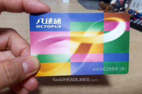 how not to get lost in hong kong - travel tips - candid headlines blog - octopus card
