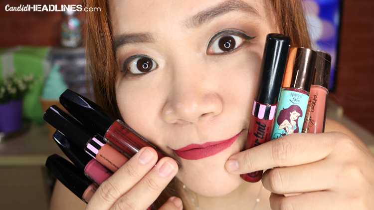 Local Brand Liquid Lipstics - Philippines - Candid Headlines - Ariane Astorga