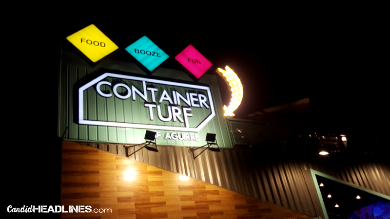 Container Turf BF Homes Paranaque, Aguirre Street
