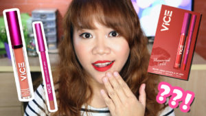 REVIEW: Vice Cosmetics Phenomenal Lip Kits